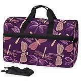 Bolsa de viaje con diseño de libélula