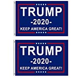 Berkshiled President Donald Trump Flag 2020 Keep America Great Flag 3x5 Feet with Grommets (Color C)
