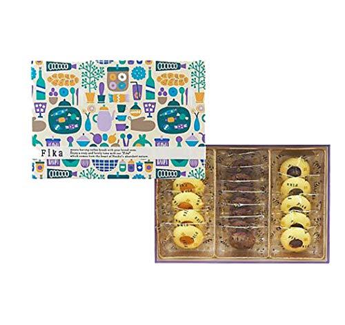 フィーカ Fika クッキーアソート クッキー 北欧の街 お菓子屋 (クッキーアソートB 国産もち米あられ1個セット)