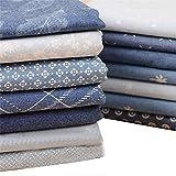 Nobenx Baumwolle Stoff Denim-Stoff Baumwollkleidung Bohou