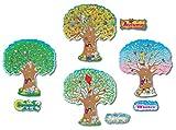 Carson Dellosa Education – Four Seasons Trees Bulletin Board Set, Classroom Décor, 12 Pieces, 3214