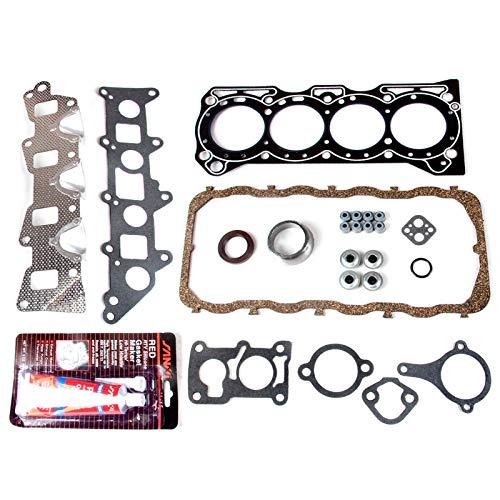 Evergreen HSTBK8000 Head Gasket Set Timing Belt Kit Fits 86-95 Suzuki Sidekick Samurai Swift 1.3 G13A