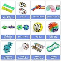 Anpro 24pcs Fidget Toys, Giocattoli Sensoriali per Persone con ADHD Autismo, Palle Antistress per Slleviare l'ansia, Sollievo dallo Stress e Regalo Anti-ansia per Adulti, Riempitivi per Borse da Festa #1