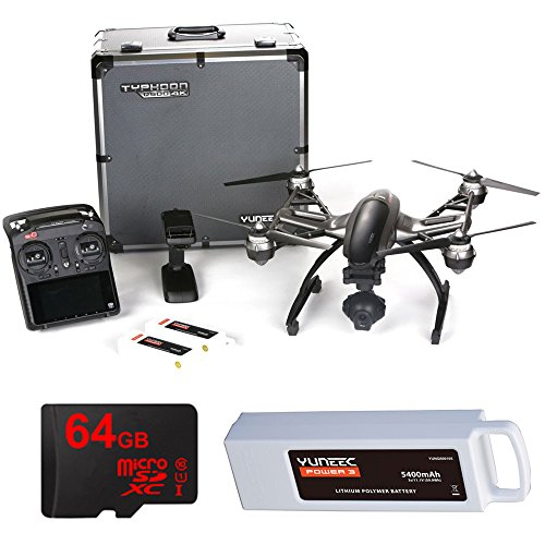 Yuneec Typhoon Q500 4K Quadcopter with CGO3...