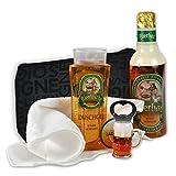 Originelles Männer Bier Geschenk-Set Feierabend handverpackt inklusive Bierbad und Duschgel plus...