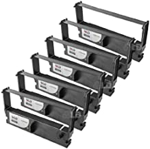 LD Compatible POS Ribbon Cartridge Replacement for Epson ERC-32B (Black, 6-Pack)