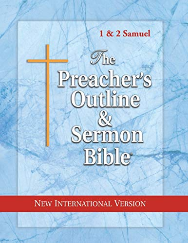 Compare Textbook Prices for The Preacher's Outline & Sermon Bible: 1 & 2 Samuel: New International Version The Preacher's Outline & Sermon Bible NIV  ISBN 9781574071641 by Worldwide, Leadership Ministries