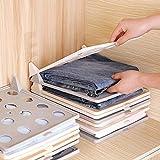 Ximger - Organizador de Armario, cajón, Camisetas, Compartimentos separadores,...