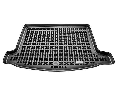 Rezaw-Plast Protector Maletero Goma Compatible con Honda Civic VIII, IX Hatchback (2006-2016) + Regalo | Alfombrilla Maletero Coche Accesorios | Ideal para Perro Mascotas