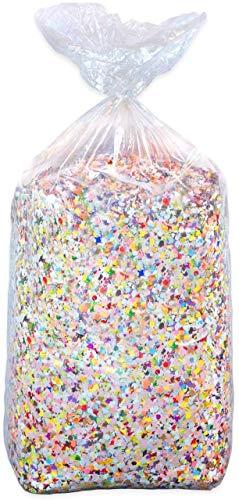 5 sacs de confettis classiques 10 kg