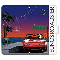 Galaxy S7 edge SC-02H ケース [デザイン:5.re - b.フロントNA_twilight/マグネットハンドあり] マツダ ロードスター ギャラクシー sc02h 手帳型 スマホケース スマホカバー 手帳 携帯 カバー