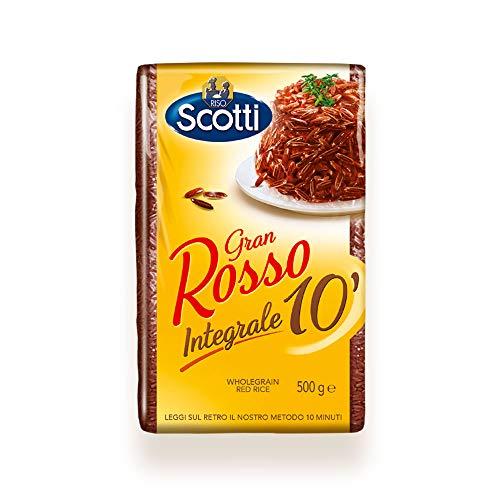 Riso Scotti - Gran Rosso Integrale 10' - Riso Integrale Rosso - 500 gr