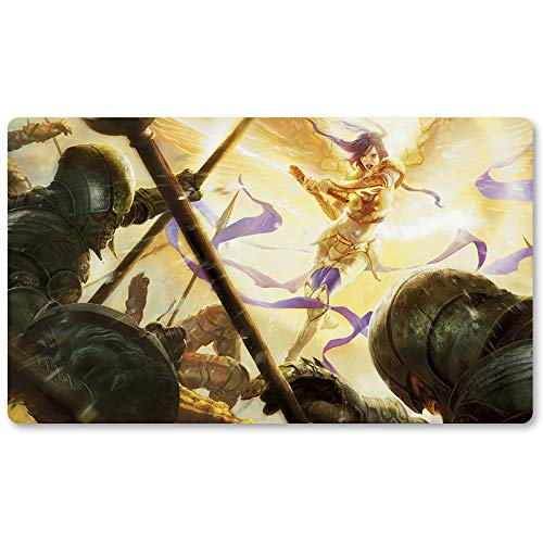 Akromas Vengeance-Brettspiel MTG Spielmatte Tischmatte Spielmatte Größe 60x35cm Mousepad Spielmatte für Yugioh Pokemon Magic The Gathering
