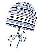 maximo - 43500-333184 Kinder Topfmütze Baumwollmütze Jerseymütze Gr. 45-51 Kindermütze für den Übergang (45)