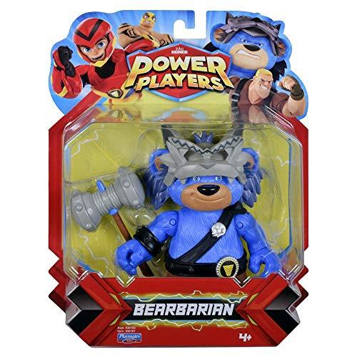 Giochi Preziosi - Power Players Pbase Bearbarian Personaggi, PWW01700