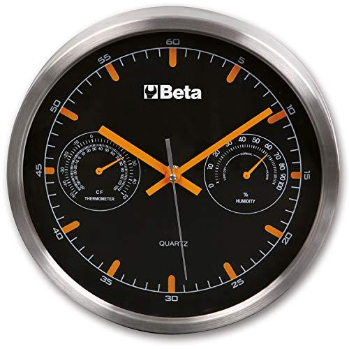orologio da parete termometro Beta 9594 Orologio da Parete Dotato di Termometro ed Igrometro