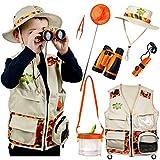 Safari Kidz Outdoor Adventure Set. Perfect Safari, Halloween, Hunting, Park Ranger Costume