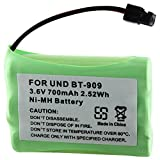 Theo&Cleo Green 3.6V 700mAh Ni-MH Battery for Uniden BT909 Cordless Phone