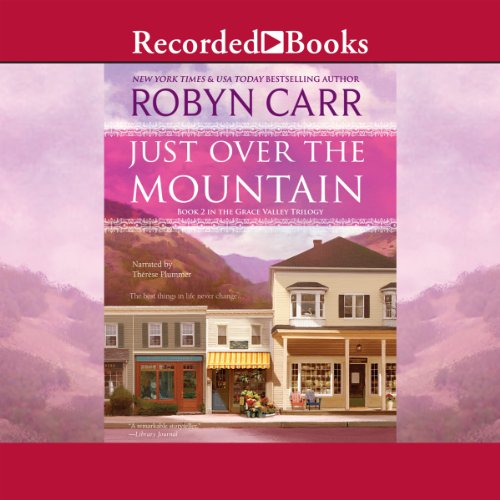 Just Over the Mountain audiobook cover art