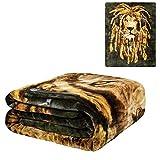 DJ Jahman Mink Plush Blanket Queen Size - Signature Collection -79 x 95