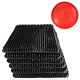ESG Nesting Pads for Chicken Coop - 6 Pack - Heavy-Duty Bedding, Washable, Air Circulation, Easy Cleaning, No Broken Eggs - Perfect Poultry Accessory for Hen House - Complete with Feed Tray