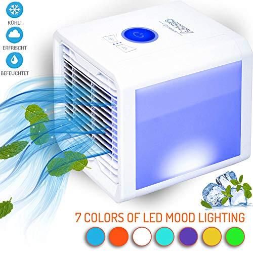 Air Cooler 3in1 Klimagerät Mobile Mini Klimaanlage Ventilator Luftbefeuchter