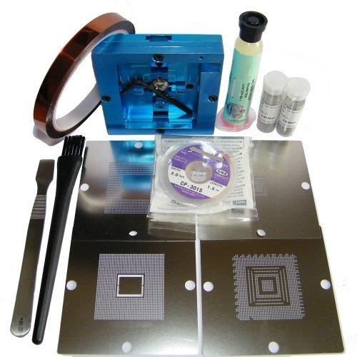 BGA Reball Station per PS3 GPU CPU CXR714120 Stencil rilavorazione Reballing Kit Riparazione