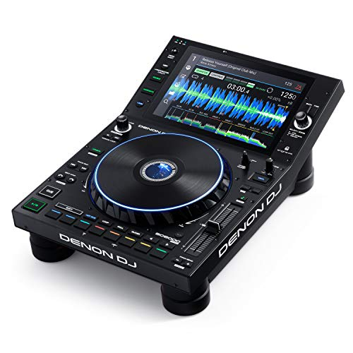 Denon DJ SC6000 PRIME – Professional Standalone DJ Media Player with WiFi Music Streaming and 10.1-Inch Touchscreen