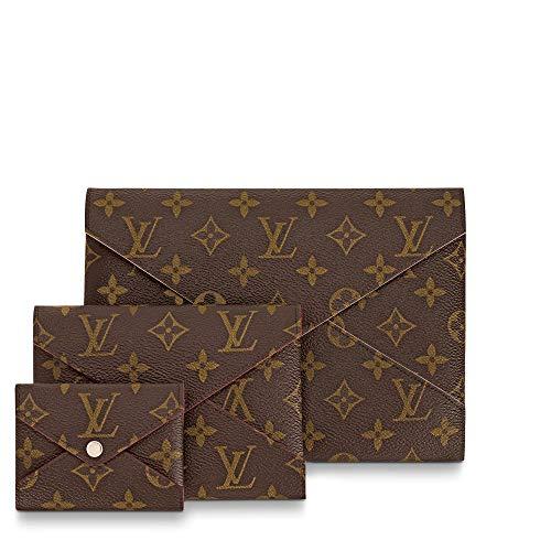 Louis Vuitton Pochette Kirigami Monogram Canvas M62034 Handbag Wallet Case