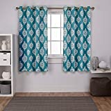Exclusive Home Curtains - Cortinas Opacas con Ojales en la Parte Superior (2...