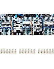 Bloque de conectores de cables, bloque de regleta de terminales aislado a prueba de fuego para control eléctrico para electromecánico para fuentes de alimentación para mecánico(Six in six out)
