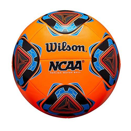 Wilson NCAA Forte Replica Soccer Ball- Orange, Size 5