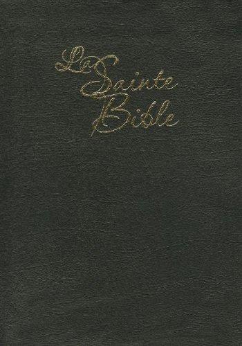 La Sainte Bible - Louis Segond 1910, Gros caractères