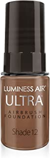 Luminess Air Airbrush Ultra Dewy Finish Foundation, Shade 12, 0.25 Oz