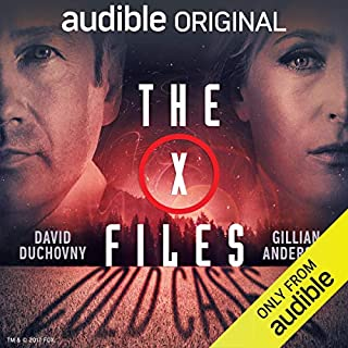 The X-Files: Cold Cases                   By:                                                                                                                                 Joe Harris,                                                                                        Chris Carter,                                                                                        Dirk Maggs - adaptation                               Narrated by:                                                                                                                                 David Duchovny,                                                                                        Gillian Anderson,                                                                                        Mitch Pileggi,                   and others                 Length: 4 hrs and 4 mins     17,219 ratings     Overall 3.9