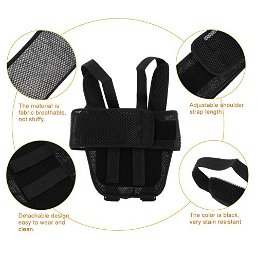 HEALLILY Arm Sling Shoulder Immobilizer for Kids Breathable Wrist Elbow Support for Dislocation Fracture Sprains Broken Arm M