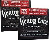 Dunlop Heavy Core Heaviest Electric Guitar Strings 12-54 - 2 Pack …