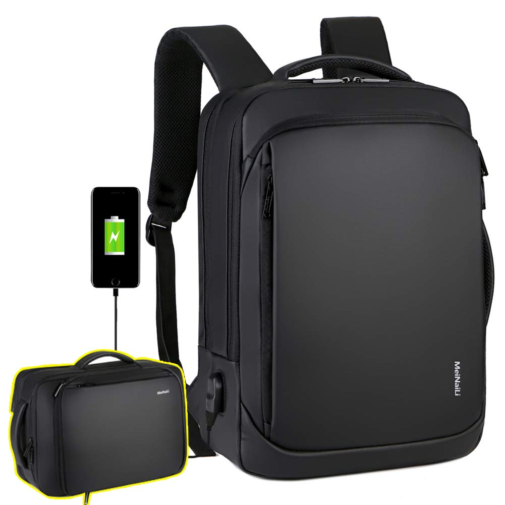 Backpack Daypacks Briefcase Convertible Resistant
