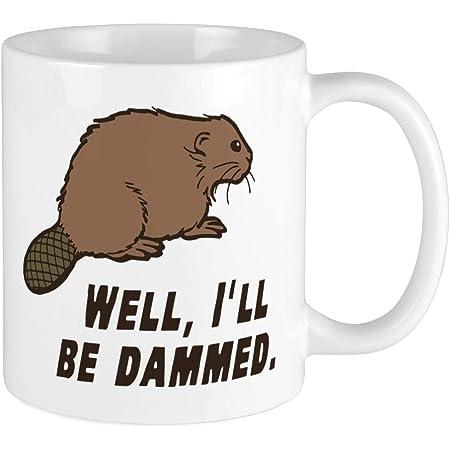 Amazon Com Beaver Coffee Mug 11 Oz Beaver Funny Gift Kitchen Dining