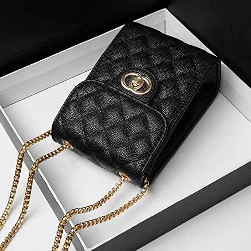 Bolso de hombro cuadrado vertical para mujer, bolso pequeño Rhombus, bolso diagonal de hombro de todo fósforo para mujer, bolso para...