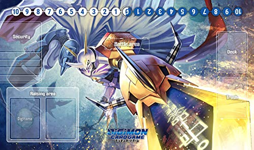 RFG REMOVE FROM GAME Omegamon Digimon Compatible with Magic The Gathering, Pokemon, Yugioh Playmat 24 x 14 inch