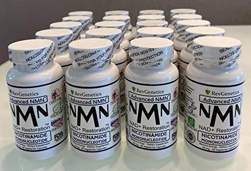 Revgenetics-Bulk! Nicotinamide Mononucleotide NMN x 20 Bottiglie