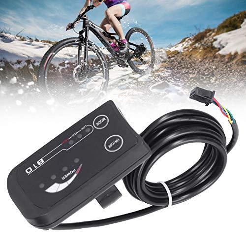 Pantalla LED de bicicleta eléctrica, pantalla de bicicleta eléctrica accesorio de bicicleta 48V instrumento de pantalla para bicicleta eléctrica