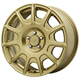MOTEGI MR139 Rally Gold Wheel Chromium (hexavalent compounds) (16 x 7.5 inches /5 x 72 mm, 40 mm Offset)