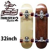 サーフスケート スケートボード コンプリート WOODY PRESS 32インチ ウッディープレス スラスターシステム2 サーフィンオフトレ用スケートボード スケボー