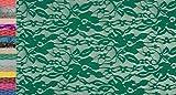 StoffBook BI-Stretch Spandex Spitze Blumenmuster Stoff