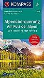 KV WTK 2555 Alpenüberquerung Tegernsee-Venedig: Wander-Tourenkarte Vom Tegernsee nach Venedig. GPS-genau. 1:50000 (KOMPASS-Wander-Tourenkarten, Band 2555)