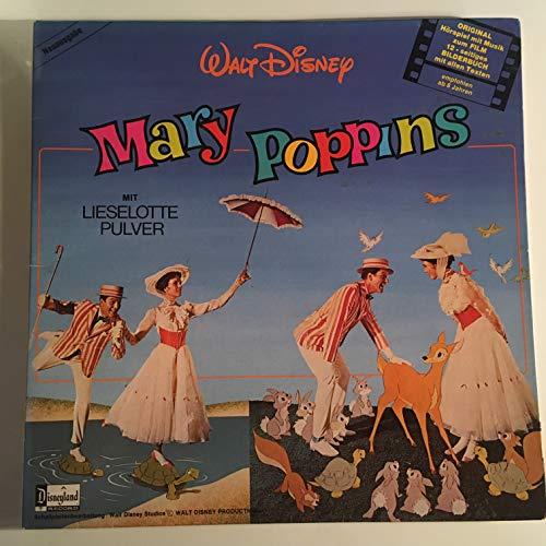 LP mit Bilderbuch - Mary Poppins mit Lieselotte Pulver - Original Hörspiel mit Musik zum Film Walt Disney Disneyland 0056503