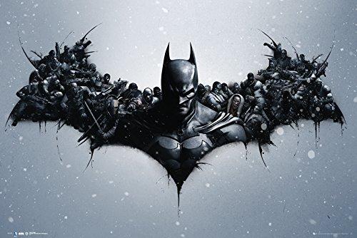 GB Eye Limited DC Comics Batman Origins Arkham Bats Maxi-Poster, 61x 91,5cm