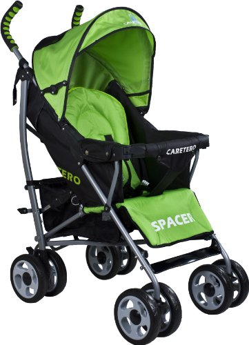 Caretero Spacer Classic, Kinderwagen Buggy, grün